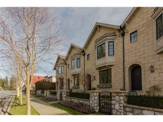 """Photo 1: 629 2580 LANGDON Street in Abbotsford: Abbotsford West Townhouse for sale in """"Brownstones"""" : MLS®# F1433770"""