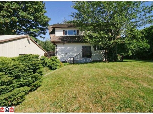 Main Photo: 2417 Mt. Lehman Road in Abbotsford: House for sale : MLS®# F1123895