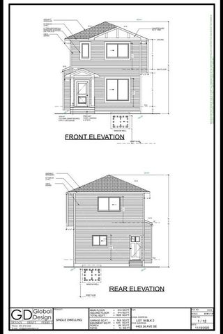 Main Photo: 4403 26 Avenue SE in Calgary: Dover Detached for sale : MLS®# A1073610
