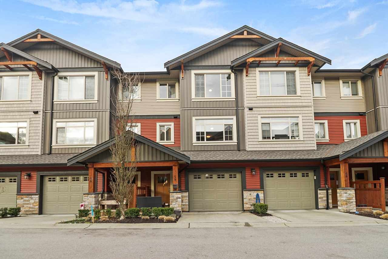 "Main Photo: 59 11305 240 Street in Maple Ridge: Cottonwood MR Townhouse for sale in ""MAPLE HEIGHTS"" : MLS®# R2534365"
