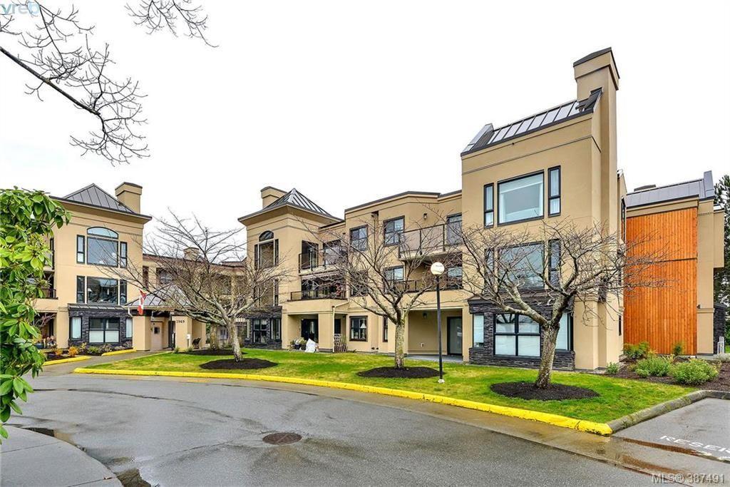 Main Photo: 209 3969 Shelbourne St in VICTORIA: SE Lambrick Park Condo for sale (Saanich East)  : MLS®# 778640