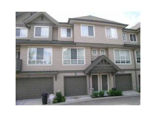 """Photo 1: 60 9088 HALSTON Court in Burnaby: Government Road Townhouse for sale in """"TERRAMOR"""" (Burnaby North)  : MLS®# V1086003"""