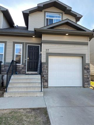 Photo 1: #37 9511 102 Ave: Morinville Townhouse for sale : MLS®# E4241894