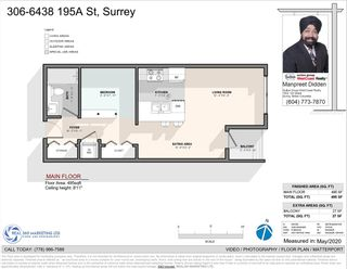 Photo 10: 306 6438 195A Street in Surrey: Clayton Condo for sale (Cloverdale)  : MLS®# R2457034