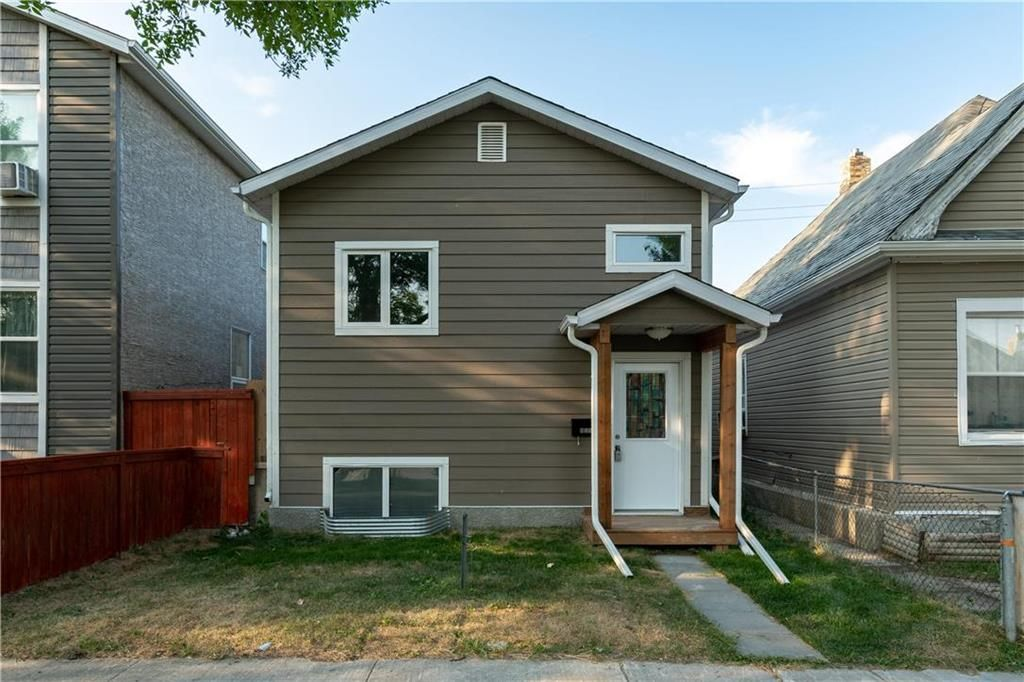 Main Photo: 635 Aberdeen Avenue in Winnipeg: North End Residential for sale (4A)  : MLS®# 202117407