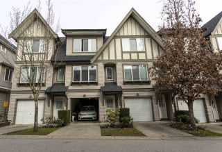 "Photo 1: 36 8775 161 Street in Surrey: Fleetwood Tynehead Townhouse for sale in ""BALLANTYNE"" : MLS®# R2550685"