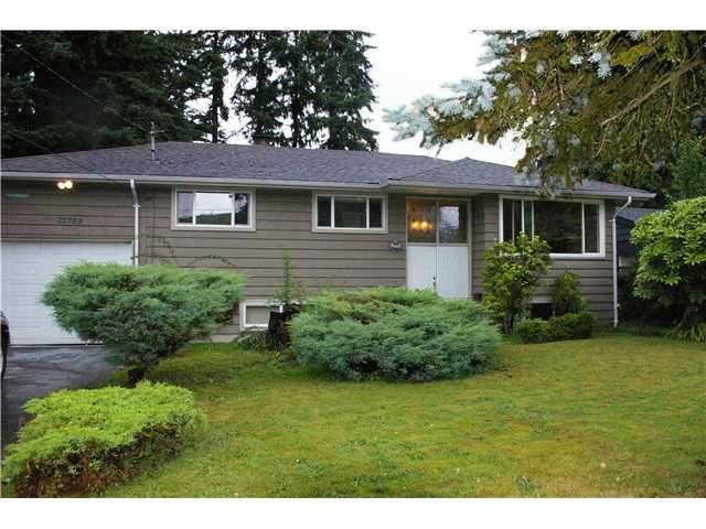 Main Photo: 21783 RIVER Road in Maple Ridge: West Central House for sale : MLS®# V1069450