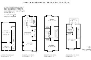 """Photo 20: 2488 ST. CATHERINES Street in Vancouver: Mount Pleasant VE Townhouse for sale in """"Bravo"""" (Vancouver East)  : MLS®# R2443783"""