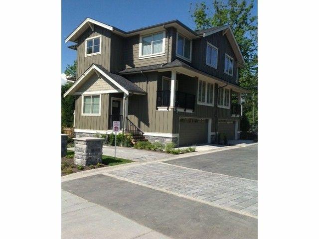"Main Photo: 9 3266 147 Street in Surrey: Elgin Chantrell Townhouse for sale in ""Elgin Oaks"" (South Surrey White Rock)  : MLS®# F1407396"