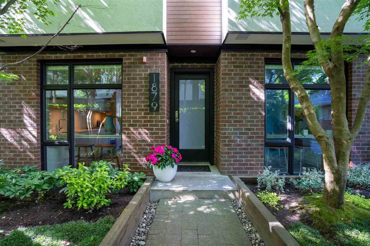 """Main Photo: 1879 W 2ND Avenue in Vancouver: Kitsilano Townhouse for sale in """"BLANC"""" (Vancouver West)  : MLS®# R2592670"""
