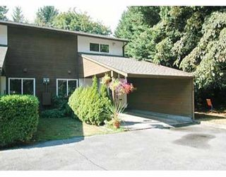 "Photo 1: 20945 CAMWOOD Avenue in MAPLE RIDGE: Southwest Maple Ridge Townhouse for sale in ""CAMWOOD GARDENS"" (Maple Ridge)  : MLS®# V612260"