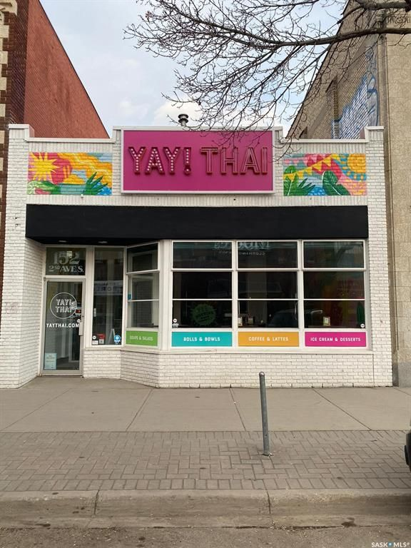 Main Photo: 152 2nd Avenue South in Saskatoon: Central Business District Commercial for sale : MLS®# SK846141