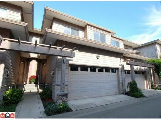 "Photo 1: 12 16655 64TH Avenue in Surrey: Cloverdale BC Townhouse for sale in ""Ridgewood Estates"" (Cloverdale)  : MLS®# F1205100"