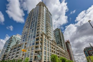 Photo 1: 825 222 RIVERFRONT Avenue SW in Calgary: Chinatown Apartment for sale : MLS®# A1029980