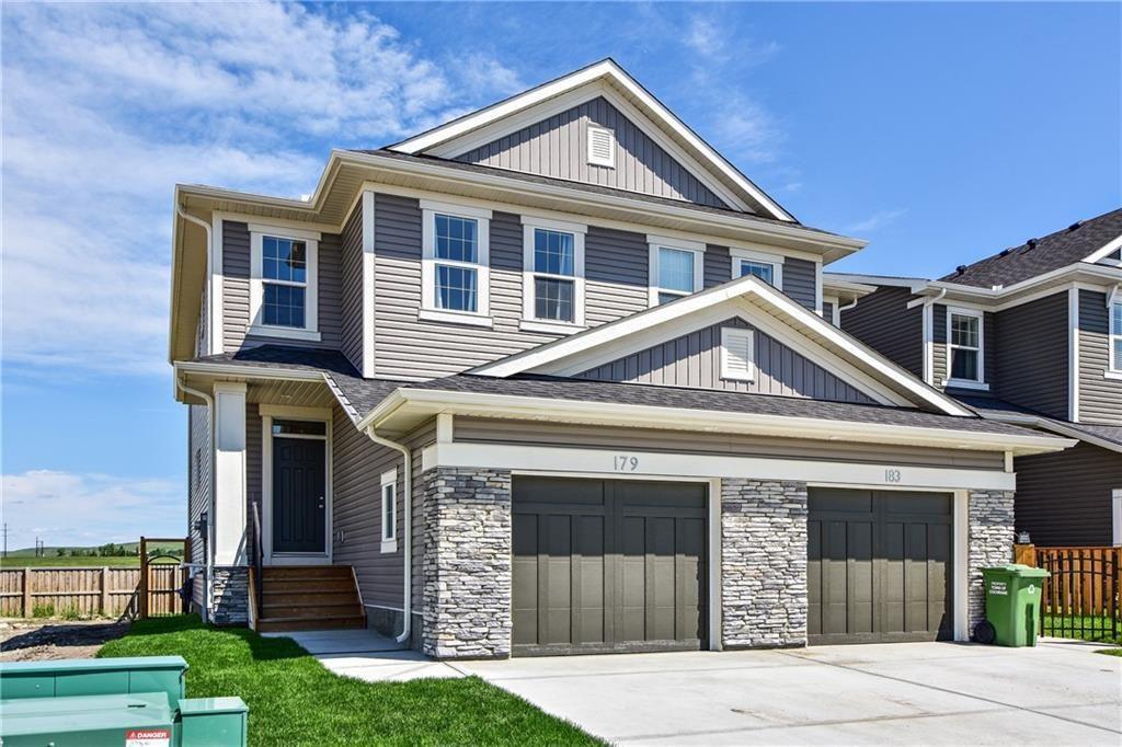 Main Photo: 179 Heritage Heights: Cochrane Semi Detached for sale : MLS®# C4306393