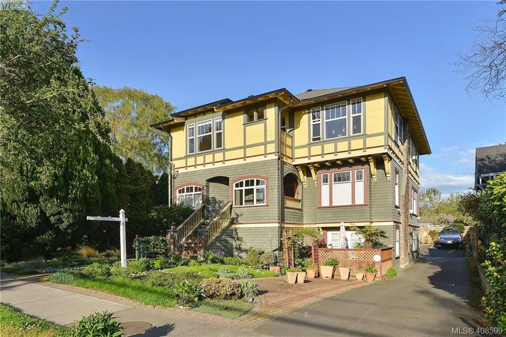 Main Photo: E 353 Linden Ave in VICTORIA: Vi Fairfield West Row/Townhouse for sale (Victoria)  : MLS®# 812014