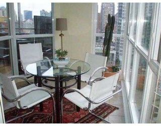 Photo 4: 1603 - 1188 Richards Street in Vancouver: Yaletown Condo for sale (Vancouver West)  : MLS®# V1000322