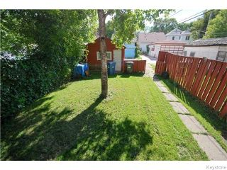 Photo 14: 382 Cathedral Avenue in WINNIPEG: North End Residential for sale (North West Winnipeg)  : MLS®# 1523080