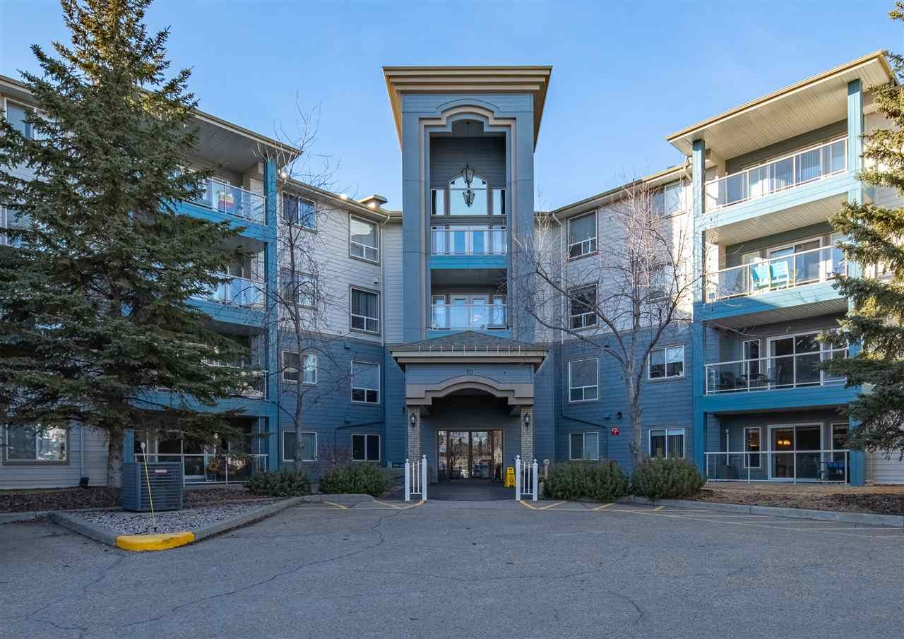 Main Photo: 205 70 Crystal Lane: Sherwood Park Condo for sale : MLS®# E4240057