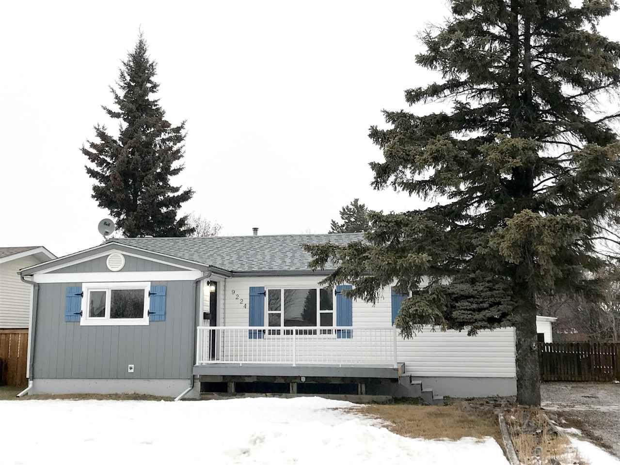 Main Photo: 9224 107 AVENUE in : Fort St. John - City NE House for sale : MLS®# R2310251