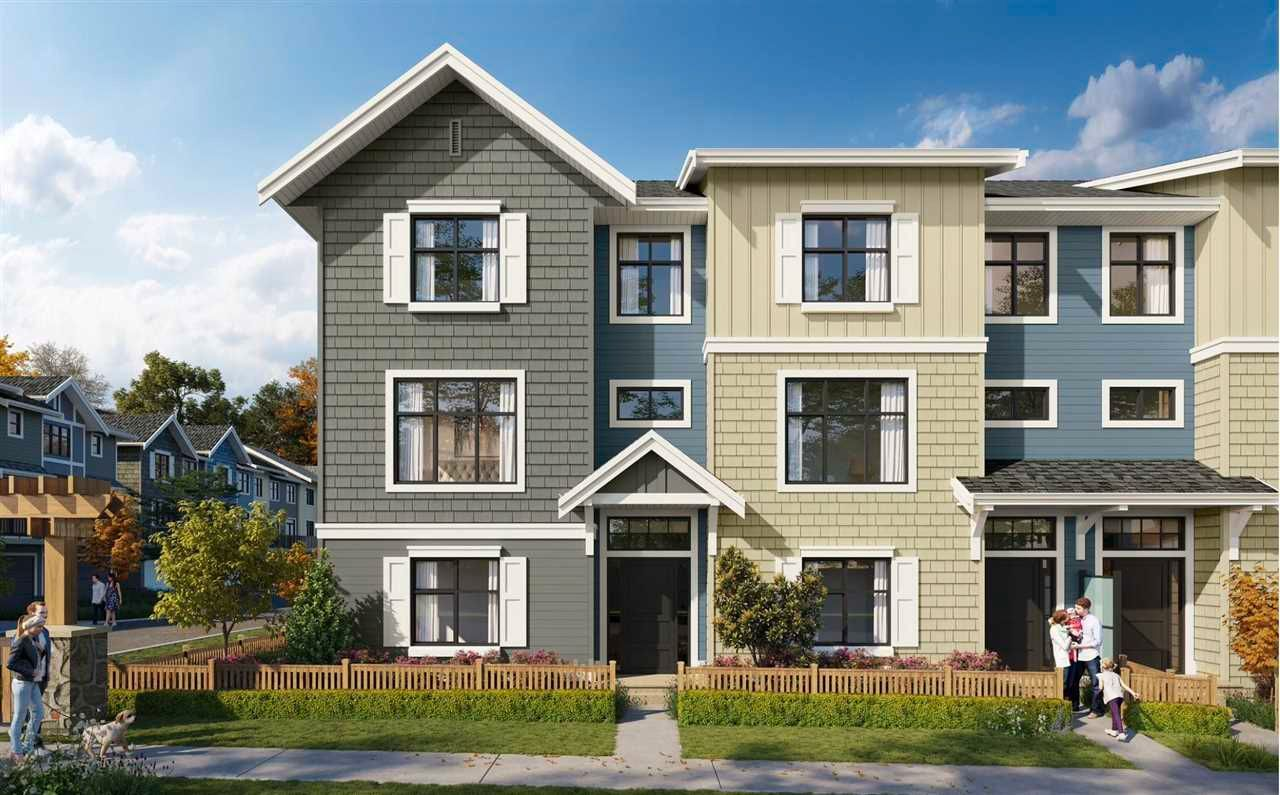 "Main Photo: 2 20261 72B Avenue in Langley: Willoughby Heights Townhouse for sale in ""Noble by Essence"" : MLS®# R2573000"