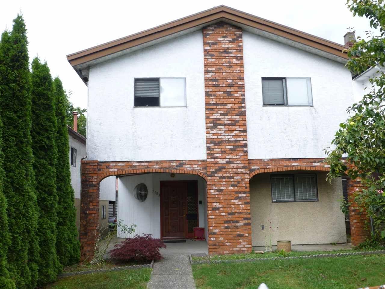 Main Photo: 2583 RENFREW Street in Vancouver: Renfrew VE House for sale (Vancouver East)  : MLS®# R2094540