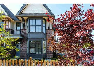 """Photo 1: 33 33460 LYNN Avenue in Abbotsford: Central Abbotsford Townhouse for sale in """"ASTON ROW"""" : MLS®# F1440584"""