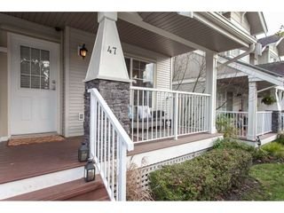 """Photo 2: 47 6568 193B Street in Surrey: Clayton Townhouse for sale in """"Belmont at Southlands"""" (Cloverdale)  : MLS®# R2325442"""