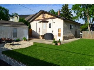 Photo 16: 294 Belvidere Street in Winnipeg: St James Residential for sale (West Winnipeg)  : MLS®# 1614084