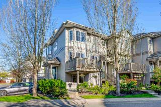 "Photo 1: 102 3880 WESTMINSTER Highway in Richmond: Terra Nova Townhouse for sale in ""Mayflower"" : MLS®# R2573048"