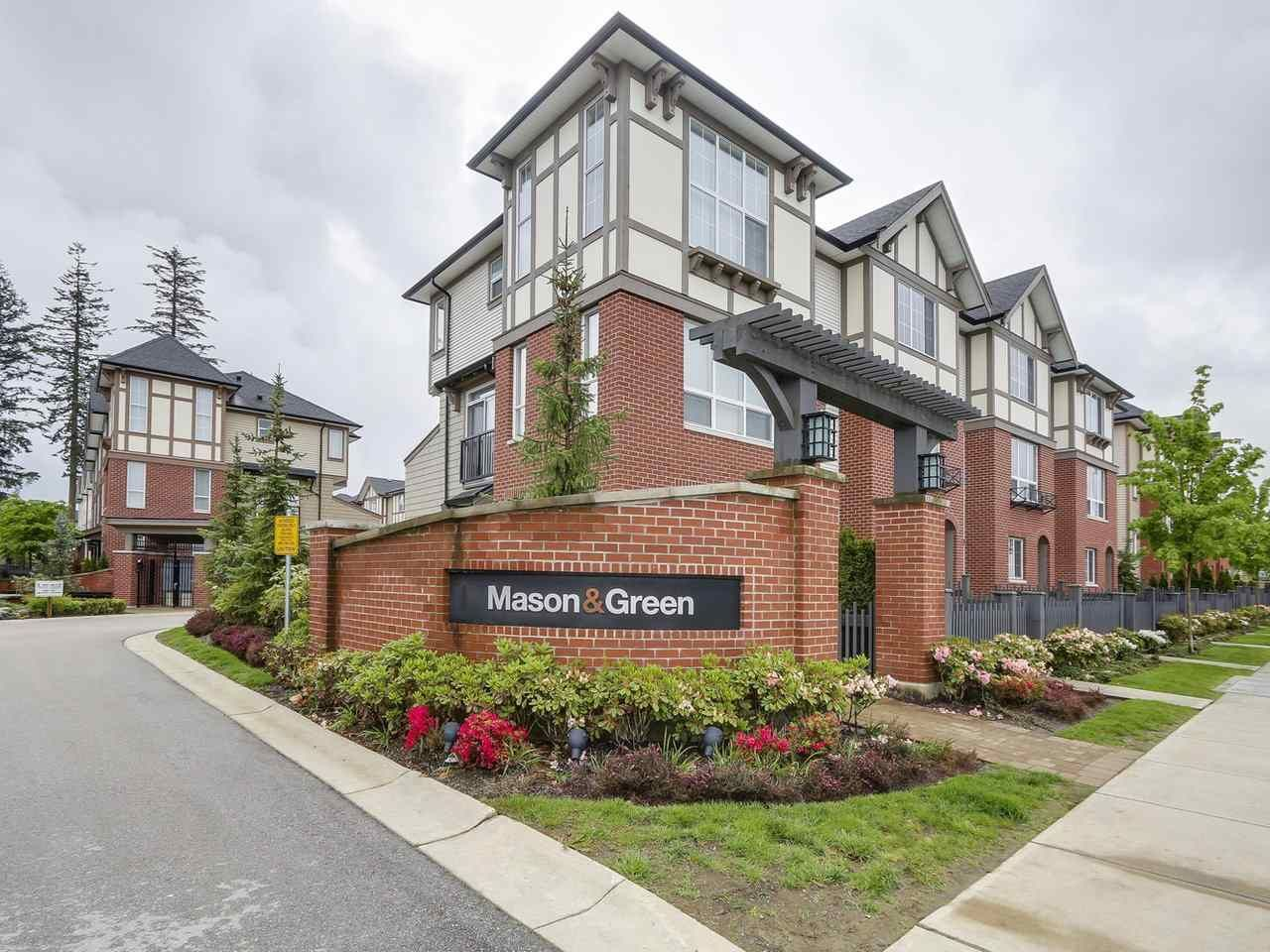 "Main Photo: 19 7848 209 Street in Langley: Willoughby Heights Townhouse for sale in ""MASON & GREEN"" : MLS®# R2168191"