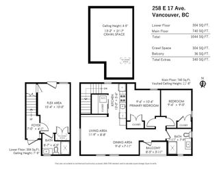 Photo 4: 258 E 17TH Avenue in Vancouver: Main 1/2 Duplex for sale (Vancouver East)  : MLS®# R2573827