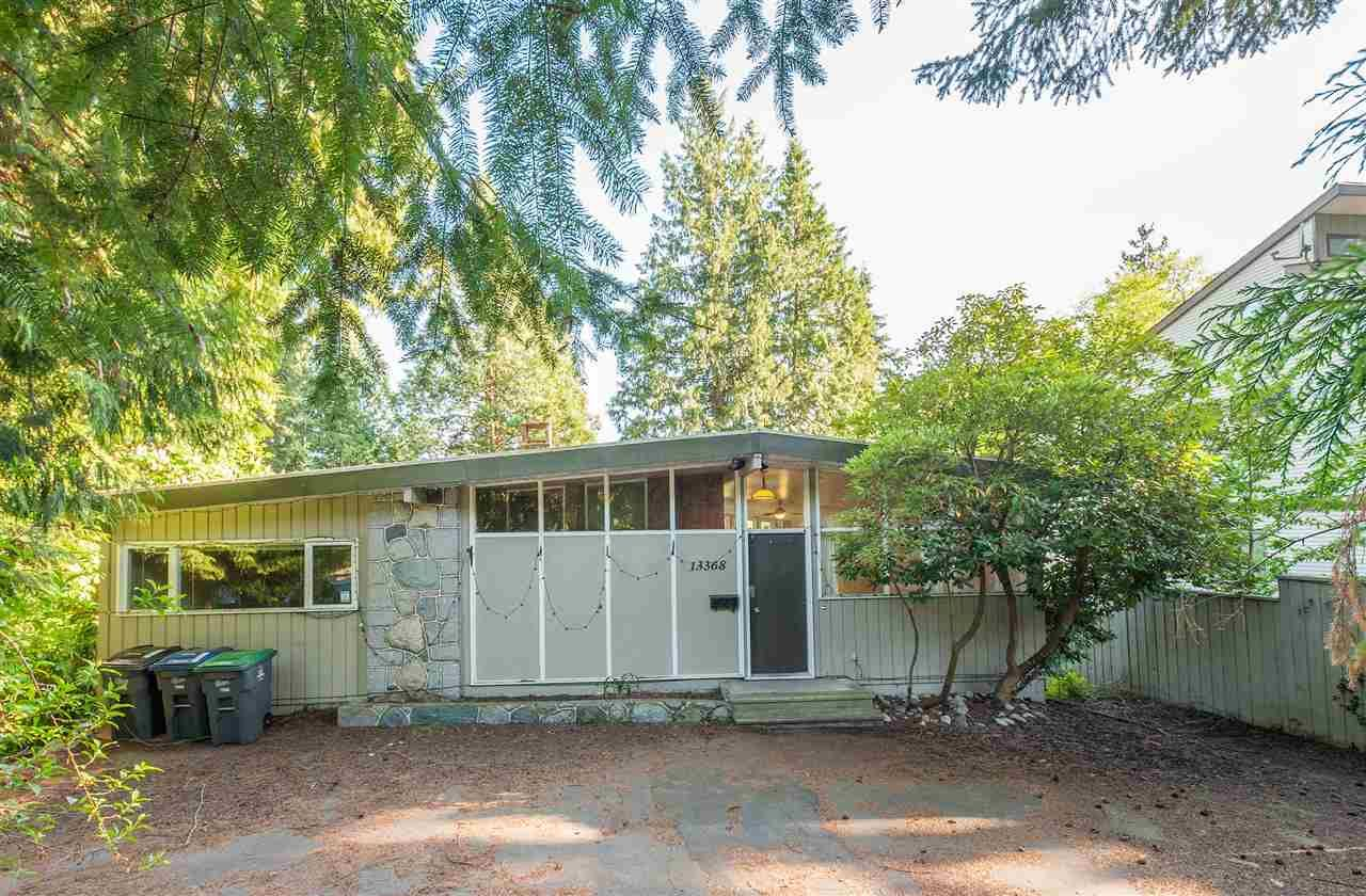 Main Photo: 13368 COULTHARD ROAD in Surrey: Panorama Ridge House for sale : MLS®# R2264978