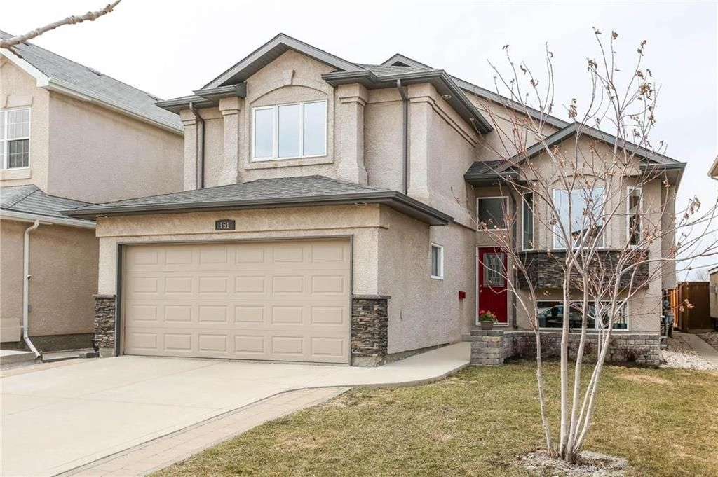 Main Photo: 151 Kingfisher Crescent in Winnipeg: South Pointe Residential for sale (1R)  : MLS®# 202008673