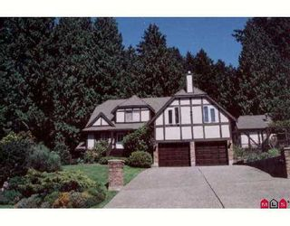 """Photo 1: 2882 130TH ST in White Rock: Elgin Chantrell House for sale in """"CRESCENT PARK"""" (South Surrey White Rock)  : MLS®# F2616259"""