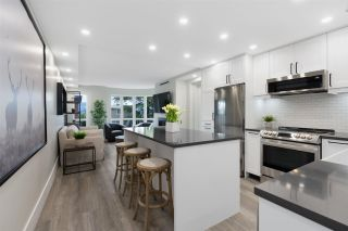 """Photo 1: 205 2428 W 1ST Avenue in Vancouver: Kitsilano Condo for sale in """"NOBLE HOUSE"""" (Vancouver West)  : MLS®# R2591111"""