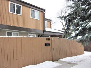 Photo 38: 7118 178 Street in Edmonton: Zone 20 Townhouse for sale : MLS®# E4222101