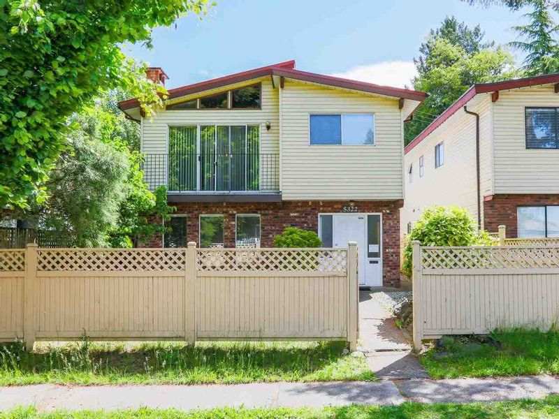 FEATURED LISTING: 5322 SHERBROOKE Street Vancouver