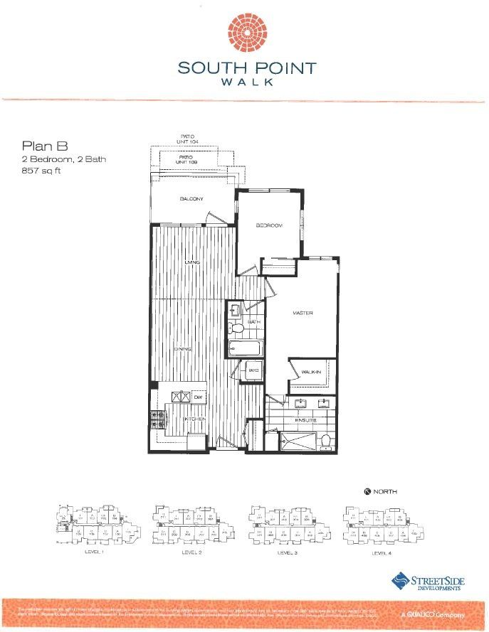 """Photo 17: Photos: 304 15188 29A Avenue in Surrey: King George Corridor Condo for sale in """"SOUTH POINT WALK"""" (South Surrey White Rock)  : MLS®# F1448455"""