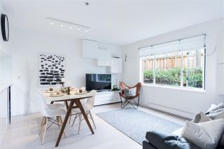 """Photo 2: 103 929 W 16TH Avenue in Vancouver: Fairview VW Condo for sale in """"Oakview Gardens"""" (Vancouver West)  : MLS®# R2369711"""
