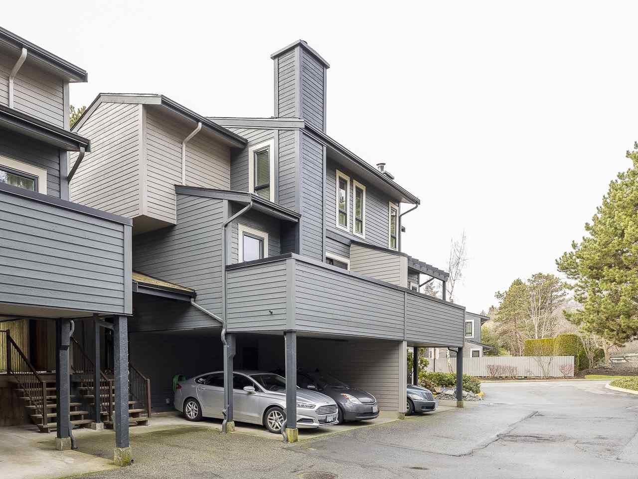 """Main Photo: 7366 PINNACLE Court in Vancouver: Champlain Heights Townhouse for sale in """"Parklane"""" (Vancouver East)  : MLS®# R2542021"""