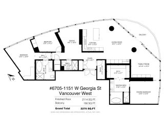 Photo 37: 6705 1151 W GEORGIA Street in Vancouver: Coal Harbour Condo for sale (Vancouver West)  : MLS®# R2501474