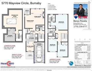Photo 35: 5770 MAYVIEW CIRCLE in Burnaby: Burnaby Lake Townhouse for sale (Burnaby South)  : MLS®# R2548294