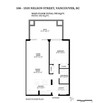 "Photo 30: 106 1535 NELSON Street in Vancouver: West End VW Condo for sale in ""The Admiral"" (Vancouver West)  : MLS®# R2548042"