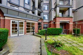 """Photo 1: 213 10455 UNIVERSITY Drive in Surrey: Whalley Condo for sale in """"D'Cor"""" (North Surrey)  : MLS®# R2443325"""
