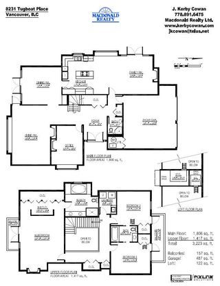 """Photo 11: 8231 TUGBOAT Place in Vancouver: Southlands House for sale in """"ANGUS LANDS"""" (Vancouver West)  : MLS®# V737387"""
