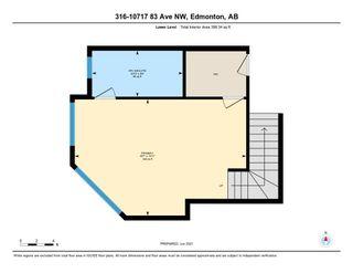 Photo 20: 316 10717 83 Avenue in Edmonton: Zone 15 Condo for sale : MLS®# E4264468