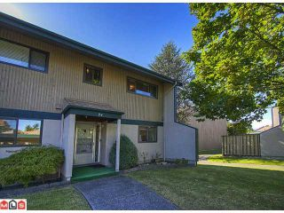 "Photo 1: 24 5850 177B Street in Surrey: Cloverdale BC Townhouse for sale in ""Dogwood Gardens"" (Cloverdale)  : MLS®# F1222363"