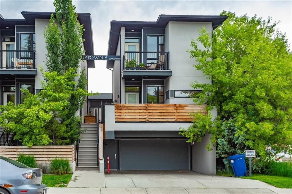 Main Photo: 1506 22 Avenue SW in Calgary: Bankview Row/Townhouse for sale : MLS®# A1060614