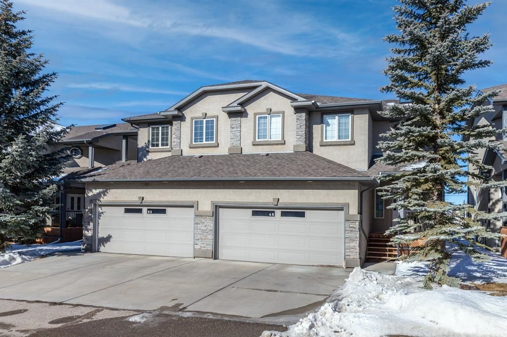 Main Photo: 48 Prominence Park SW in Calgary: Patterson Semi Detached for sale : MLS®# A1080850